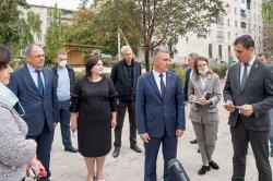 Вадим Красносельский посетил социальные объекты микрорайона «Северный»