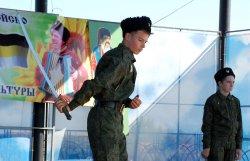 В парке Александра Невского в Бендерах прошел фестиваль казачьей культуры