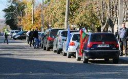 В Бендерах Дню автомобилиста посвятили автопробег