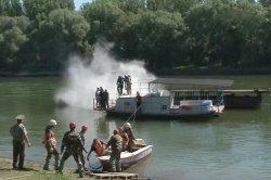 В Бендерах прошли учения по устранению ЧС на воде